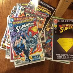 Expo Center, Come And See, Fleas, Savage, Superman, Comics, Antiques, Big, Vintage