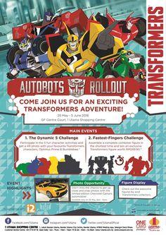 25 May-5 Jun 2016: Autobots Rollout at 1 Utama