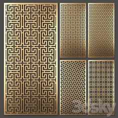 models: Other decorative objects - Decorative partition Wood Wall Design, Steel Gate Design, Wall Panel Design, Wooden Partitions, Wooden Wall Panels, Wooden Screen, Decorative Screens, Decorative Tile, Decorative Objects