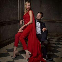 Diane Kruger et Joshua Jackson - Photo : Mark Seliger pour Vanity Fair