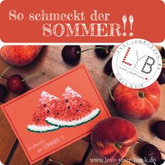 Die neue Postkarte von Love your Book ist da! Pünktlich zum Sommerstart! Genießt den Sommer mit den Postkarten von Love your Book! Paper, Postcards, Handmade, Summer