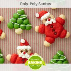 Roly-Poly Santas?