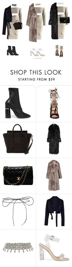 """Untitled #441"" by cristinarose567 ❤ liked on Polyvore featuring 3.1 Phillip Lim, Gianvito Rossi, STELLA McCARTNEY, Chanel, Yves Salomon, Lilou, TIBI and Bulgari"