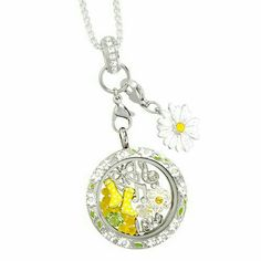Is spring here yet?? Origami Owl spring charms are! Get them before they're gone! #spring #yellow #origamiowl