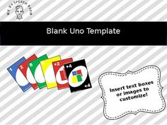 """Game-O: Create Your Own """"Uno"""" Game {Fully Editable ..."""