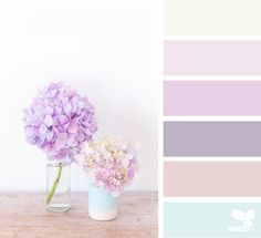 Amethyst hues colors design seeds, color и pastel colour pal Spring Color Palette, Colour Pallete, Spring Colors, Color Combos, Color Palettes, Design Seeds, Color Schemes Design, Hue Color, Pallet Painting