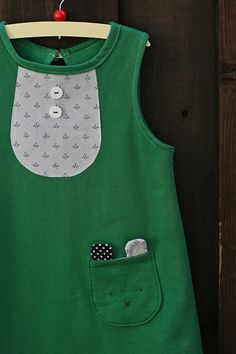 bora bib dress - such cute details