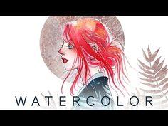 [Watercolor] In Repose - YouTube