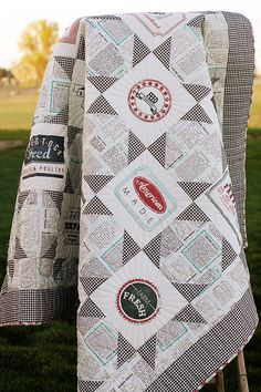 Moda Love!  Sweetwater Designs - Feed Company fabric.