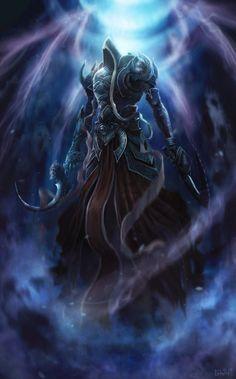 Diablo III: Malthael, The Angel of Death - Created by Edwin Reyes Sablaya