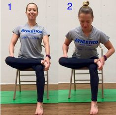 This week we will learn a seated piriformis stretch. This will target not only the piriformis but also the gluteal and outer hip muscles which can become tight when we sit for long periods of time. Sciatica Stretches, Sciatica Pain Relief, Sciatic Pain, Back Pain Relief, Piriformis Exercises, Hamstring Muscles, Hip Workout, Workouts, Boxing Workout
