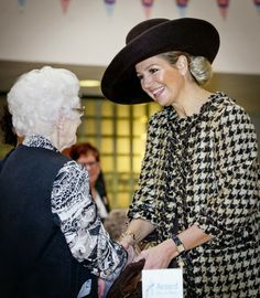 12 MARCH 2014  Queen Maxima Queen Maxima visited  health care center Avoord Zorg during the national week of Health and Welfare in Etten-Leur.