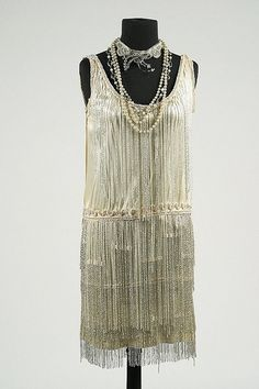 Edith Head Dress (front view) - 1929 - Made for Clara Bow in The Saturday Night Kid