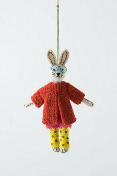 Kingsley Bunny ornament