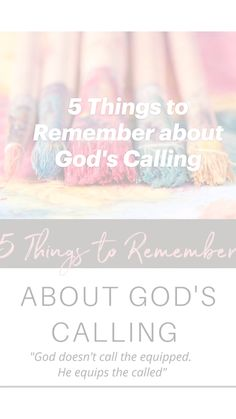 5 Things, Things To Come, Deeper Life, Identity In Christ, Spiritual Gifts, Christian Encouragement, Busy Life, Knowing God, Christian Women