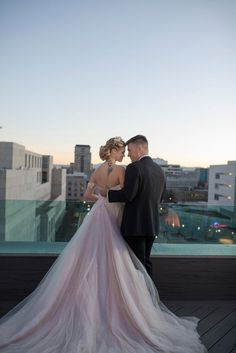 Wedding Photography Inspiration : romantic bride and groom wedding dress