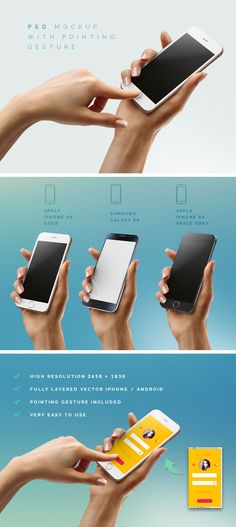iPhone 6 / Android Mockup
