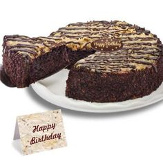 Delicious chocolate cake is fused with coconut, caramel and pecans creating an unbelievable combination! Each gift arrives with an imported belgian chocolate plaque, when applicable, a matching greeting card is is packaged in an elegant gift box. Order Birthday Cake Online, Birthday Cake Delivery, Order Cakes Online, Birthday Cake For Mom, Birthday Cakes, Happy Birthday, Tasty Chocolate Cake, German Chocolate, Chocolate Anniversary Cake