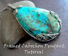 Looking for your next project? You're going to love Framed Cabochon Pendant Tutorial by designer earringsbyerin. - via @Craftsy