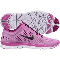 f9a8cf296e92 Nike Womens Free 5.0 TR FIT 4 Training Shoes Red Violet White 629496 500