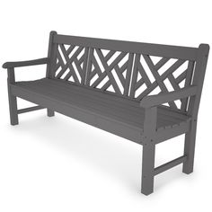 """POLYWOOD ® All-Weather 72"""" Bench"""