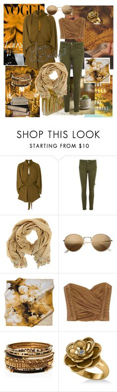 """Bez naslova #187"" by selma-masic1 ❤ liked on Polyvore featuring Acler, Paige Denim, Imayin, H&M, Balmain, Amrita Singh, Allurez, Chloé and Hemingway"