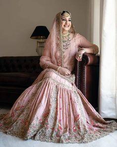 courtesy courtesy Designer sarees ,indian sari ,bollywood saris and lehenga choli sets. punjabi suits patiala salwars sets bridal lehenga and sarees. if you need stitching service or else we send unstitched. Bridal Lehenga Images, Pink Bridal Lehenga, Indian Bridal Lehenga, Pakistani Bridal Dresses, Stylish Dresses For Girls, Wedding Dresses For Girls, Indian Wedding Outfits, Bridal Outfits, Girls Dresses