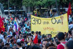 Temporada 2015 de Protestos no RJ Estréia com Duas Prisões e Muita Tensão | VICE | Brasil