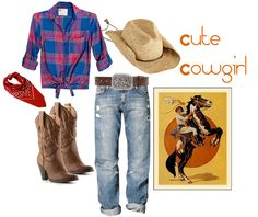 Diy cowgirl costume 20 easy diy costumes pinterest cowgirl cute cowgirl costume for halloween solutioingenieria Gallery