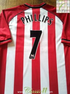 c30b25ea9fe Relive Kevin Phillips' 2003/2004 Premier League season with this original Saints  Southampton home