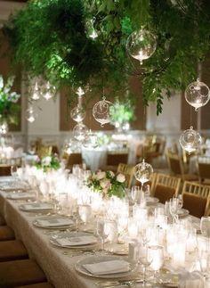 Featured Photographer: Sarah Kate Photography; Wedding reception idea. #WeddingIdeasIndoor