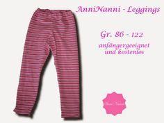 Mama Nähblog: kostenloses Schnittmuster Leggings