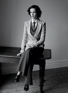 Eva Green men's wear perfection