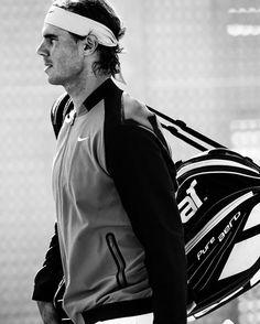 Rafael Nadal (via NikeCourt IG) Nike NikeCourt Rafa 2016 Style On court Vamos Babolat