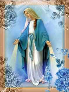 Blessed Virgin Mary, so beautiful