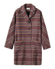 STRIPE COAT by TOAST