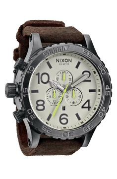 Love the Nixon 'The 51-30 Chrono' Watch, 51mm on Wantering.