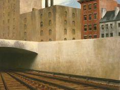 """Approaching a City"" (1946)--Edward Hopper"