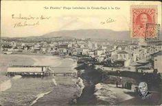 """La Phalère"""". Plage balnéaire de Coum - Capi à la Canée Ταχυδρομική κάρτα"""