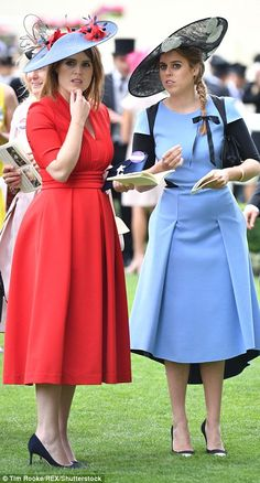 Princess Beatrice catches up with her aunt by marriage, Sophie Wessex...