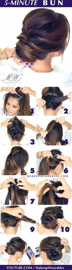 Best Hairstyles For Your 30s -5-Minute Romantic Updo Bun- Hair Dos And Don'ts For Your 30s, With The Best Haircuts For Women Over 30, Including Short Hairstyle Ideas, Flattering Haircuts For Medium Length Hair, And Tips And Tricks For Taming Long Hair In Your 30s. Low Maintenance Hair Styles And Looks For A 30 Year Old Woman. Simple Step By Step Tutorials And Tips For Hair Styles You Can Use To Look Younger And Feel Younger In Your 30s. Hair styles For Curly Hair And Straight Hair Can Be…