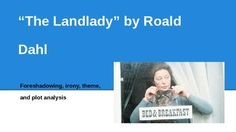 The landlady by roald dahl essay