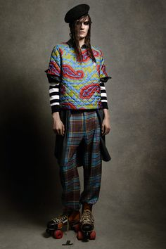 tenmagazine - JW ANDERSON: TOPSHOP COLLECTION ON VOGUE