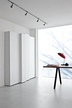 Blio  #Design: #Neuland. Paster & Geldmacher for Kristalia #bookcase #bookshelves #libraries #bookcases - Kristalia