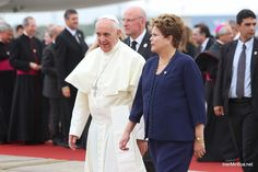Pope Francis and Dilma