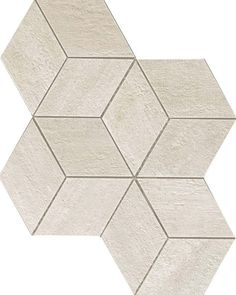 MARK GYPSUM ESAGONO MOSAIC 12X14 Use this cool 3D hexagon inside or out