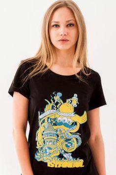 #sekizcom #woman #girl #tshirt #shopping #gri #tasarim #design #baski #fashion #clothing #sweatshirt #uzunkollu #black #istanbul
