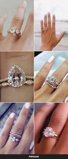 These 36 gorgeous rose gold engagement rings will make you swoon.