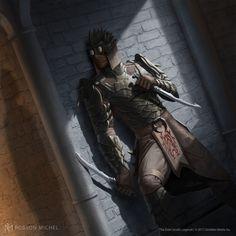 ArtStation - Morag Tong Assassin, Robson Michel The Elder Scrolls, Elder Scrolls Skyrim, Elder Scrolls Online, Character Concept, Character Art, Character Design, Character Ideas, Dnd Characters, Fantasy Characters