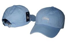 Stussy Strapback Cap Blue Match it with some denims and its all easy out the door Streetwear Hats, Streetwear Online, Streetwear Fashion, Stussy Snapback, Strapback Cap, Men With Street Style, Hat Shop, Thrasher, Outfit Of The Day